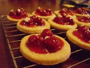 Cherry kolacky goodness